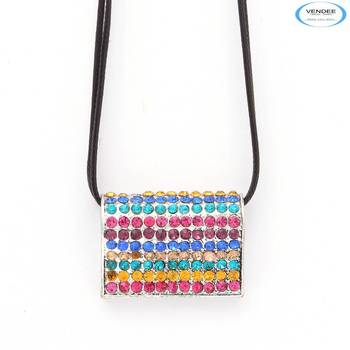 Shiny diamond pendant jewelry