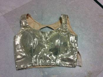 sequins blouse
