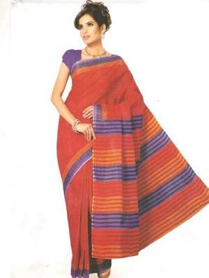 Kalazone Printed Super net Lehariya saree: WS20248