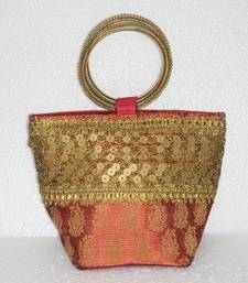 Buy Ethnic,Bag,Indian,traditional,handmade,Clutch,Big,evening,Party,digital,colour,bangle,border,bag,india,small,basket potli-bag online