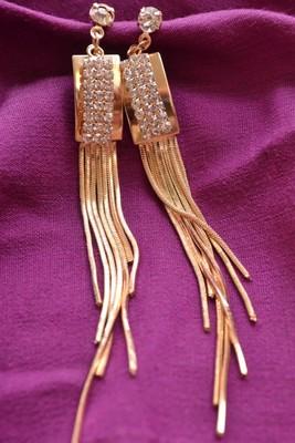 Long Tinkling Pretty Earrings