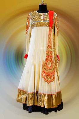 New looking anarkali suit online shopping.