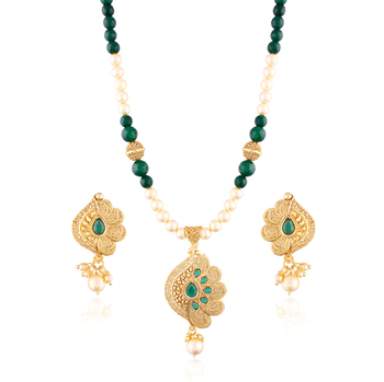 Royaltouch gold plated antique set