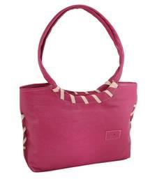 Pink Stylish Shoulder Handbag