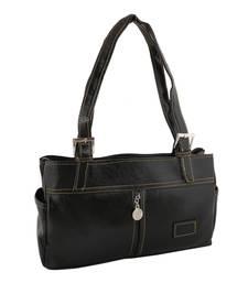 Unique Black Shoulder Handbag