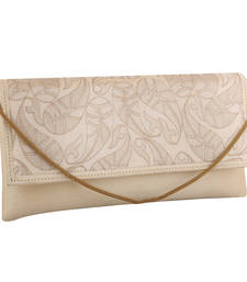 Elegant White Clutch Handbag