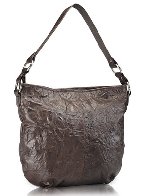 """Phive Rivers-Sally, Genuine Leather Women Handbag with colour : """" Brown"""""""