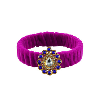 Rani Stone Brass Bangle