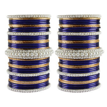 Multi Moti Brass Bangle