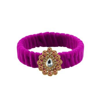 Rani Stone Brass Bangle