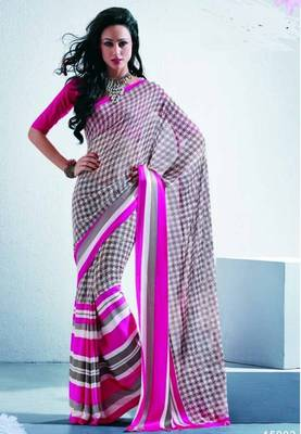 Saree With Unstitched Blouse (15002)