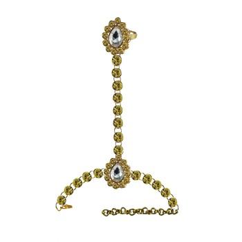 Golden Stone Stud Brass Hathful