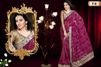 Designer Khadi Super Net Saree