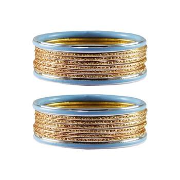 Golden Plain Metal Bangle