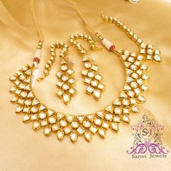 Kundan & Meenakari Bridal Look Necklace