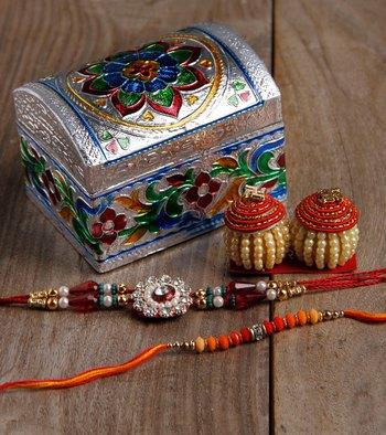 Beautiful Rakhi Combo