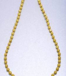 Buy SINGLE LINE GOLD BALLS MALA - PCN1032 Necklace online