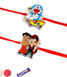 Buy Combination of kids rakhis kids-rakhi online