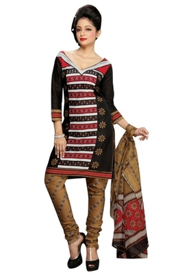 Triveni Smart Floral Motif Casual Wear Salwar Kameez TSMUVRSK7007