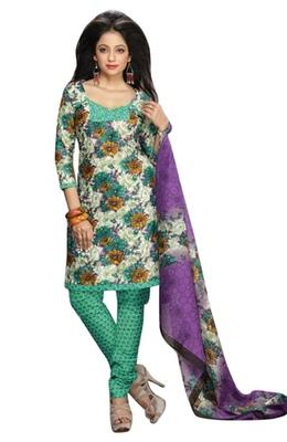 Triveni Charming Floral Motif Printed Salwar Kameez TSMUVRSK7012