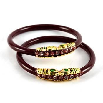 Large size bangles  colour maroon size-2.12,2.14