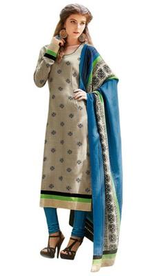 Triveni Trendy Office Wear Broad Border Salwar Salwar Kameez TSFLSK6374b