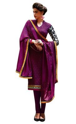 Triveni Bright Colored Floral Printed Salwar Kameez TSFLSK6376b