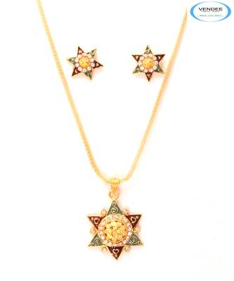 Brass fashion pendant jewelry