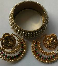 Designer Ram Leela Earings & Traditional Kada shop online