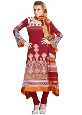 Triveni Appealing Traditional Printed Salwar Kameez TSFLSK6339B