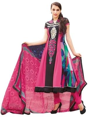 Triveni Fabulous Floral Embroidered Anarkali Salwar Kameez TSFLSK6341B