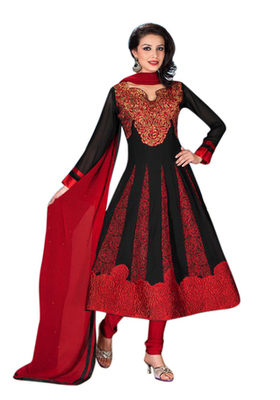 Triveni Astonoshing Floral Embroidered Anarkali Salwar Kameez 3806