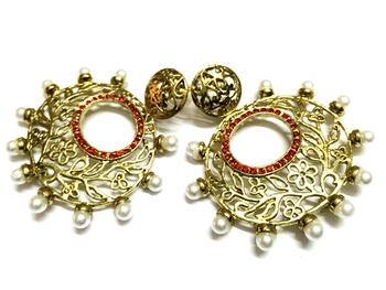 Golden Traditional Earrings4