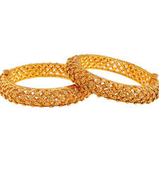 Buy Trending gold plated antique bangle bangles-and-bracelet online