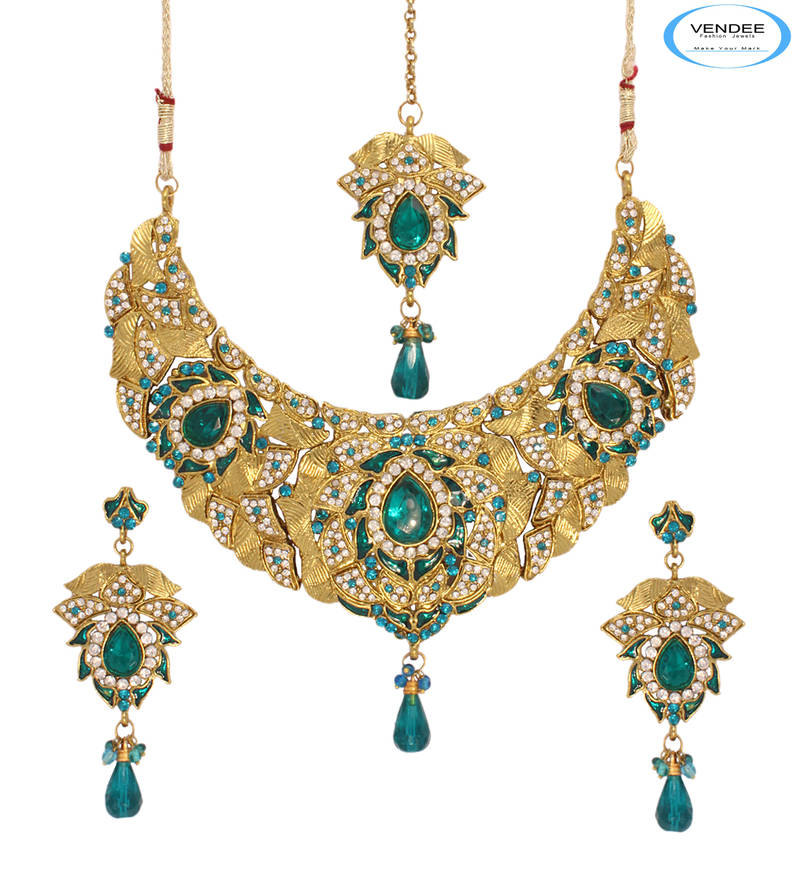 New Fashion Arrivals Wedding Jewelry Awesome Design: Buy Awesome Bridal Jewelry Set Online