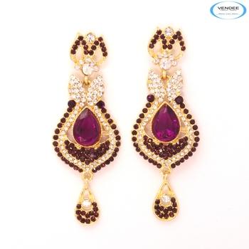 Graceful diamond earrings