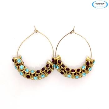 Admirable diamond earrings