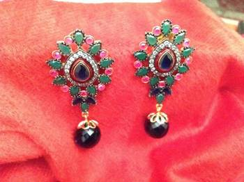 victorian daimond earrings