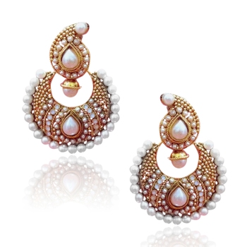 Glowing & elegant, elegant & pretty, pretty & beautiful earring ha65w DDS 7