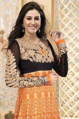 LycheeFashions Semi Stitched  Long Anarkali