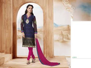 Saptrang cotton unstitched suits for all office wear