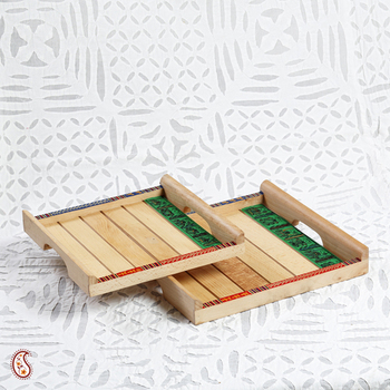 Explicitly pleasing handcrafted wooden trays