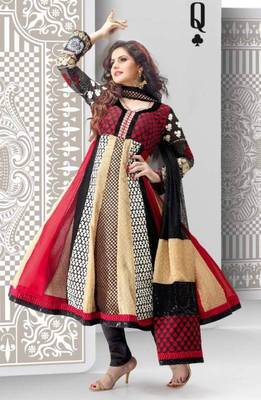Zarin Khan Readymade Anarkali Size Medium 38