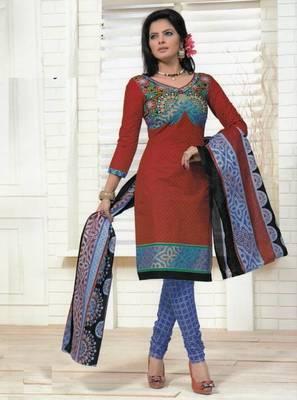 Dress material cotton designer prints unstitched salwar kameez suit d.no PS1304