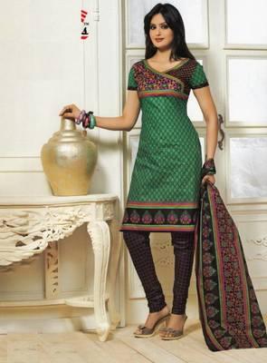 Dress material cotton designer prints unstitched salwar kameez suit d.no PS1310