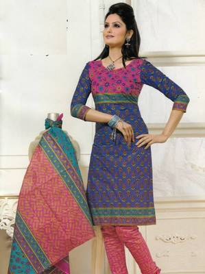 Dress material cotton designer prints unstitched salwar kameez suit d.no PS1315