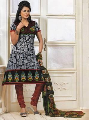 Dress material cotton designer prints unstitched salwar kameez suit d.no PS1331