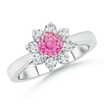 Cubic Zirconia Sterling Silver Poonam Ring