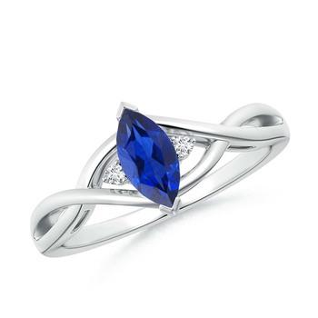 Cubic Zirconia Sterling Silver Pradnya Ring