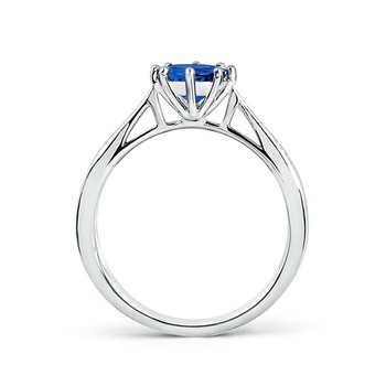 Cubic Zirconia Sterling Silver Puneri Ring